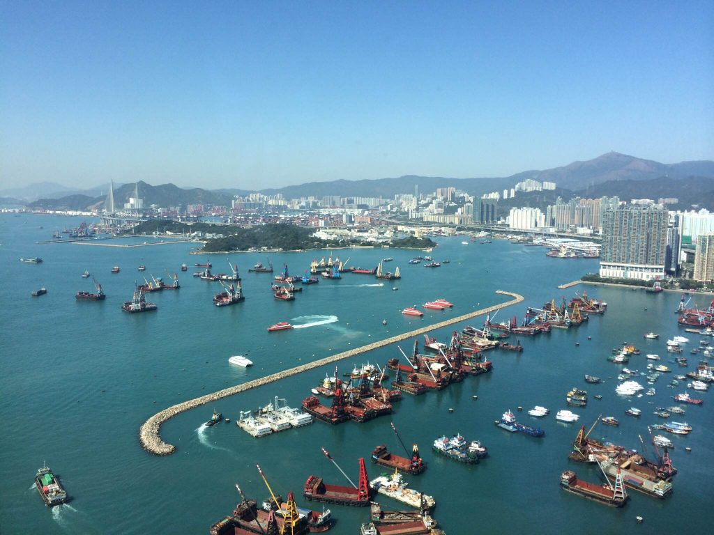 Kowloon Harbour, Hong Kong