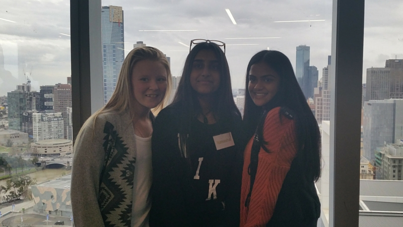 UPP participants at Level 23, EY, Melbourne CBD
